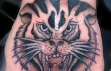 Oldskool tijger