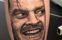 Here's Johnny Tattoo