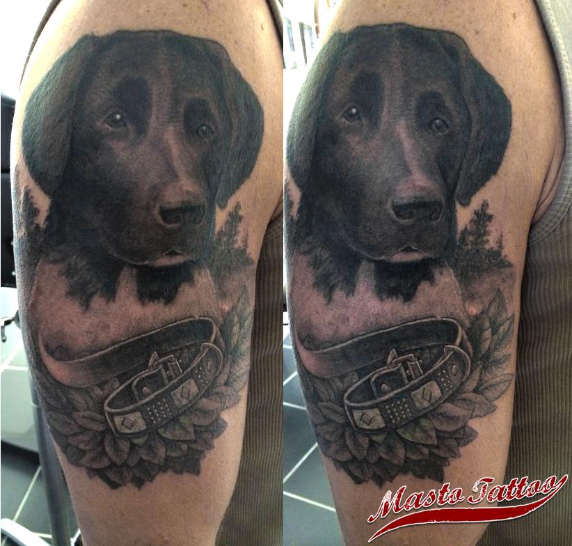 Mastotattoonl Hond Portret