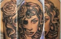 Woman….skull